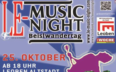 LE Music Night - Kombiangebot